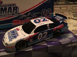 Mark Martin custom BWB 1/24 diecast car