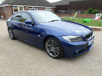 2011 (61) BMW 320 2.0TD Sport Plus, M Sport, 4 Door Saloon, Sat Nav, Leather