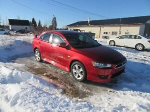 2013 Mitsubishi lancer sport  only 59000 km 5 speed  standard