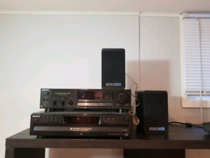 Sony sounds system with speakers and All!