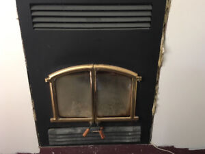 Opel 2000 Fireplace with Chimney