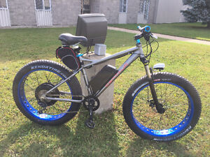 ATTENTION Fat Bike 48V-1000W hyper puissant 50km/h+