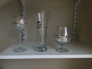 1988 Calgary Olympics Commemorative Glasses
