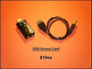 USB Sound Cards – USB 3.0 PCI-E Expansion Cards