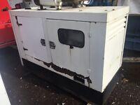 Perkins 25 kva silent diesel generator