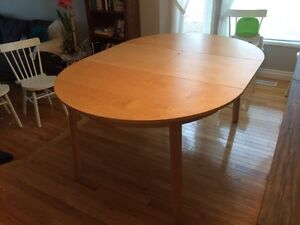 Durable Extendable Dining Table for sale in South Edmonton.