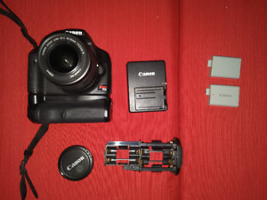 Canon DSLR T1i EOS 500D 15.1MP Package