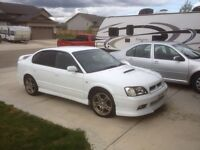 99 subaru legacy b4 2.0 twin turbo 5spdm JDM import