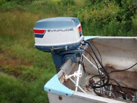 25 Hp Evinrude for sale or trade