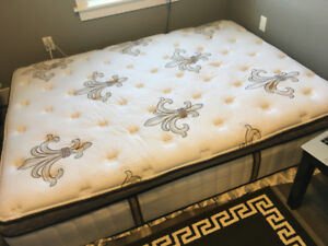 stearns and fosters queen size luxury mattress for sale