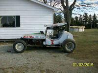 Running 1960's Sprint Car