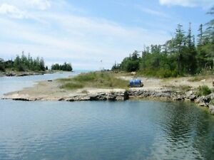 Two Acres Waterfront Lake Huron with Bunkie