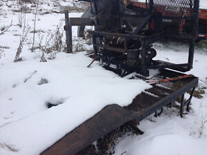 winch deck, wrecker ,loader tires, 600 holmes wrecker