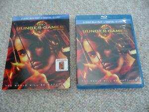 The Hunger Games on 2 Disc Blu-Ray - With Slipcover