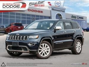 2017 Jeep Grand Cherokee Limited  PARK ASSIST | PANORAMIC SUNROO
