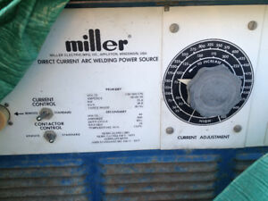 Miller Welder and wire spool