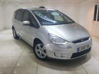 2009 FORD S-MAX 1.8 TDCI ZETEC SILVER 7 SEATER LONG MOT LIKE GALAXY