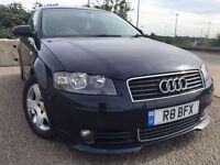 A3 automatic mot 8/6/17 privat number comes with the car