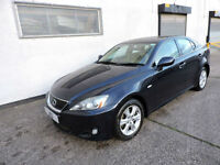 07 Lexus IS 220d 2.2TD Damaged Salvage Repairable