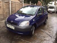TOYOTA YARIS FOR SALE LOW MILEAGE