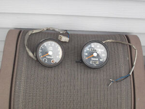 tachometer and speedometer