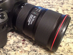 like new canon EF 16 35 F4 L IS USM ultra wide angle lens