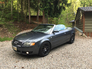 2004 Audi A4 1.8l Turbo Convertible