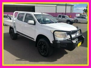 2014 Holden Colorado RG MY14 LX (4x4) White 6 Speed Manual Crew Cab Chassis Dubbo Dubbo Area Preview