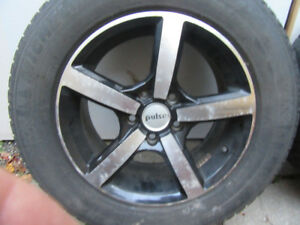 Four (4) 16 Inch Alloy Rims For Sale