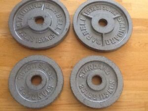 160 lb Olympic Weight plate set