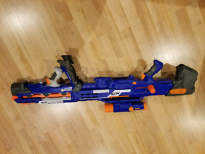 Nerf sniper with scope