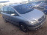 Vauxhall Zafira long mot 395 no offers