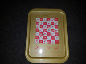 "1976 Coca Cola Olympic Tin Sign/Tray 10.5"" x 14.5"""
