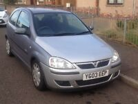 Vauxhall corsa low miles cheap run about