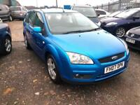 2007/07 Ford Focus 1.6TDCi 110 ( DPF ) Style LONG MOT EXCELLENT RUNNER