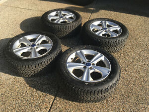 4 Rims and Tires for Ford Escape