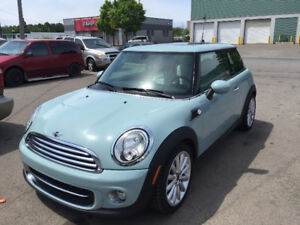 Beautiful  Baby Blue 2012 Mini Cooper for sale