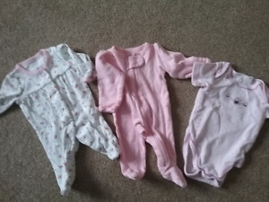 Baby girl clothes/blanket