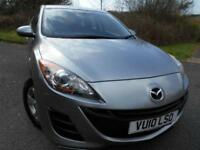 2010 10 MAZDA 3 1.6 TS 5D 105 BHP ** 1 PREVIOUS OWNER CAR , ONLY 53K **