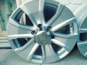 "18"" Rims ( Allow) for light duty vehicle."