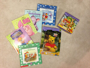 Winnie the Pooh - Collection of books and puzzles
