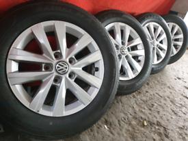 Vw transporter t5 t6 Highline Alloy Wheels brand new