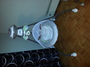 Like new swing and other items