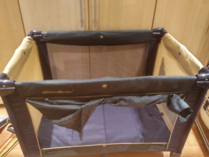 Eddie Bauer playpen and bassinet/changing table combo
