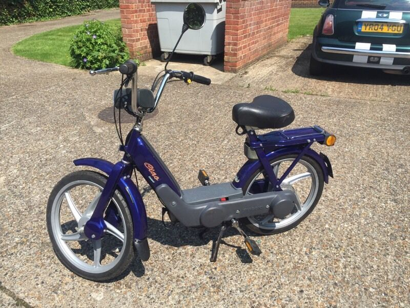 Like New Vespa Piaggio Ciao Px Moped Catalyzed Uk Plated