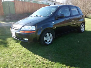 2007 Chevrolet Aveo Hatchback Reduced Price!