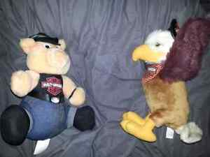 Collectable Harley Davidson STUFFED mascots