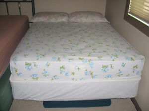 Single Mattress set along with bed frame.