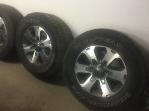 "18"" Ford F-150 Fx4 Wheels and tires"