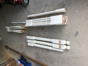 Oak Stair Spindles/pickets, posts and railing
